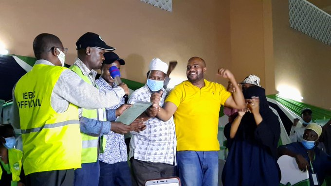 Independent candidate, Feisal Bader wins Msambweni by-election