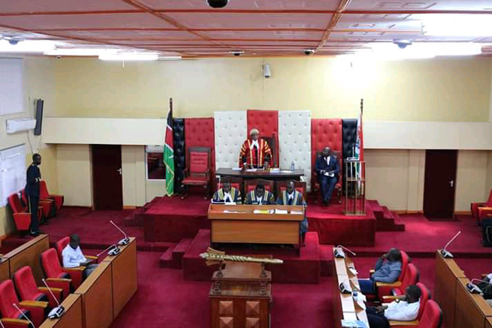 A County Assembly in session. [Photo: Courtesy]
