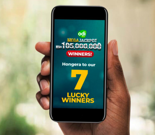 Seven Lucky Millionaires: Why Kenyans Can't get Enough of the Odibets Mega Jackpot