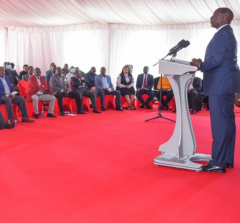 DP William Ruto osts MPs at his Karen residence [Photo Courtesy]: