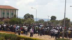 Lecturers at Moi University in Eldoret