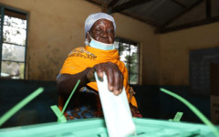 A resident casts her vote in Matungu on March 4, 2021. | Courtesy| Standard|