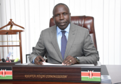 Kenya's High Commissioner in India, Willy Bett