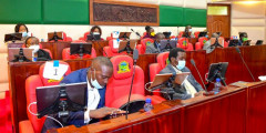 File image of Nyandarua County Assembly in session. |Photo| Courtesy|
