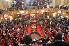 File image of Kenyan Parliament in session. [Photo: Courtesy]