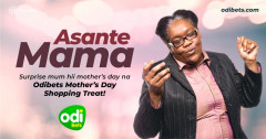 Happy Mother's Day: Odibets to Surprise More than 1000 Mums with Free Shopping