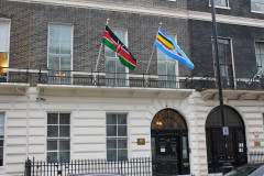 Kenya's High Commission in London office building. |Photo| Courtesy|