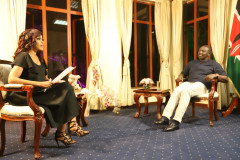 Deputy President William Ruto during an interview on Thursday night. [Photo: Courtesy]