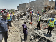 Building Collapses, Several Feared Trapped in Kisumu