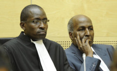 File image of lawyer Evans Monari and former Police Commissioner Hussein Ali. |Photo| Courtesy|
