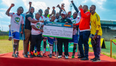 Betting firm Odibets has come to the rescue of the Kenya Amputee football team