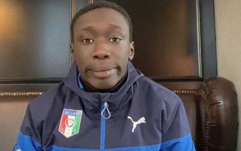 File Image of Khaby Lame, a Senegalese with Italian citizenship.